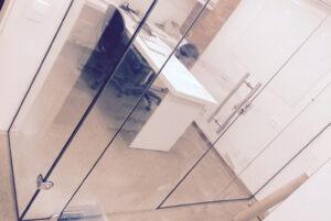 Divisória de vidro em empresa